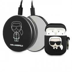 Karl Lagerfeld AirPods 1 / 2 case + Power Bank Ikonik KLBPPBOA2K