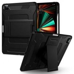 """Spigen iPad Pro 12,9"""" 2021 Case Cover Hülle Tough Armor PRO schwarz"""