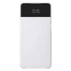Original Samsung EF-EA525PW A52 A525 S View Wallet Cover weiß