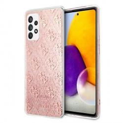 Guess Samsung A72 A725 4G Glitter 4G Case Cover Hülle Pink