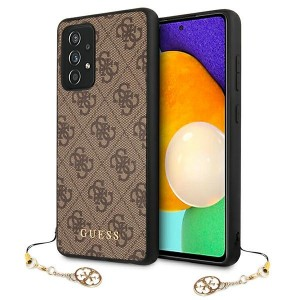 Guess Samsung A725 A72 4G Charms Case Cover Hülle Braun