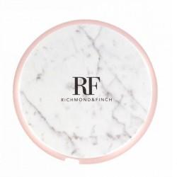 Richmond & Finch Kabel USB-C marmor Kabelrolle weiß