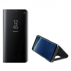 Handytasche Xiaomi Redmi 10 Clear View Case schwarz