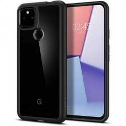 Spigen Google Pixel 5A Case Cover Hülle Ultra Hybrid schwarz