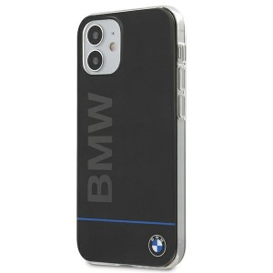 BMW iPhone 11 Hülle Case Cover Blue Line Signature Printed Logo