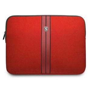 """Ferrari Notebook / Laptop Tablet 13"""" Tasche Urban Rot"""