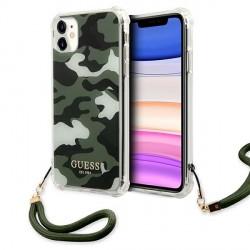 Guess iPhone 11 Case Cover Hülle khaki Camo