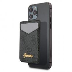 Guess MagSafe Card Slot Kartenhülle 4G Grau