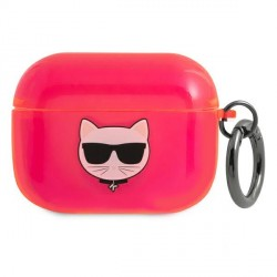 Karl Lagerfeld AirPods Pro Case Cover Hülle Choupette Pink