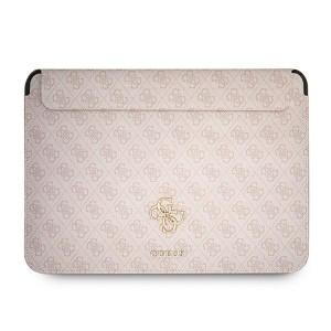 "Guess Notebook / Tablet Hülle 13"" Saffiano Big Logo 4G Rose"
