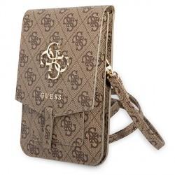 Guess universelle Smartphone Wallet bag 4G Big Logo Braun