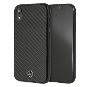 Mercedes iPhone Xr Carbon Dynamic Line Case Cover Hülle  schwarz