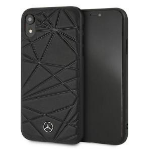 Mercedes iPhone Xr Case Cover Hülle schwarz Pattern Line Twister