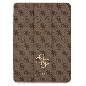 Guess iPad 11 2021 Tasche Hülle Book Case Cover 4G Braun