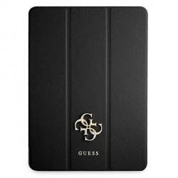 Guess iPad 11 2021 Tasche Hülle Book Case Cover Saffiano Schwarz