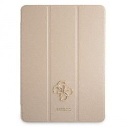 """Guess iPad 11"""" 2021 Hülle Book Case Cover Saffiano Gold"""