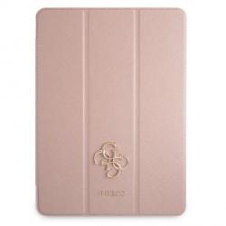 Guess iPad 11 2021 Tasche Hülle Book Case Cover Rose Saffiano