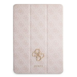Guess iPad 12.9 2021 Tasche Hülle Book Case Cover 4G Rose