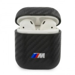 BMW AirPods 1 / 2 Carbon M Collection Cover Hülle Case schwarz