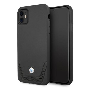 BMW iPhone 11 Hülle Case Cover Perforate Schwarz