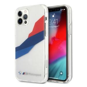 BMW iPhone 12 / 12 Pro Hülle / Case / Cover Transparent Tricolor