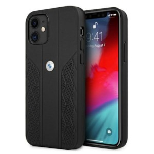 BMW iPhone 12 mini Hülle Case Cover Perforate Schwarz