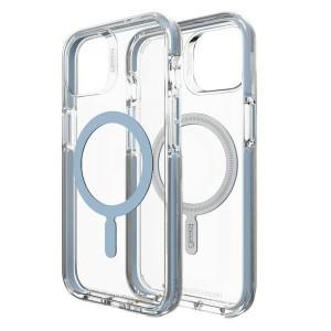 Gear4 iPhone 13 Santa Cruz Snap Hülle MagSafe Case Cover Blau
