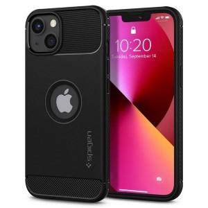 Spigen iPhone 13 Hülle Case Cover Rugged Armor schwarz