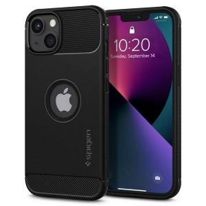 Spigen iPhone 13 mini Hülle Case Cover Rugged Armor schwarz