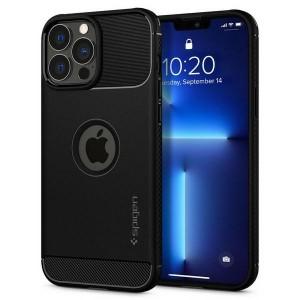 Spigen iPhone 13 Pro Hülle Case Cover Rugged Armor schwarz