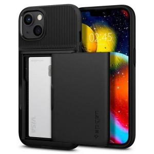 Spigen iPhone 13 Hülle Case Cover Slim Armor Kartenfach