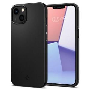Spigen iPhone 13 mini Hülle Case Cover Thin Fit Schwarz