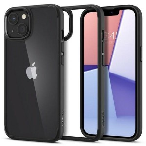 Spigen iPhone 13 Mini Hülle Case Cover Ultra Hybrid transparent schwarz