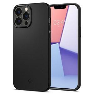 Spigen iPhone 13 Pro Max Hülle Case Cover Thin Fit Schwarz