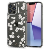 Spigen iPhone 13 Pro Max Hülle Case Cover Cyrill Cecile white daisy