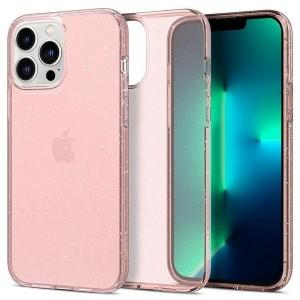 Spigen iPhone 13 Pro Max Hülle Case Cover Liquid Crystal Glitter Rose