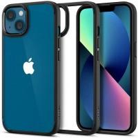 Spigen iPhone 13 Hülle Case Cover Ultra Hybrid crystal schwarz