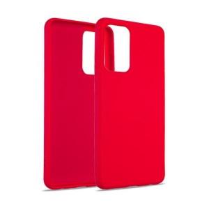 iPhone 13 Pro Max Beline Liquid Silikon Hülle Case Cover rot