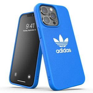 Adidas iPhone 13 Pro OR Moulded BASIC Hülle Case Cover Blau