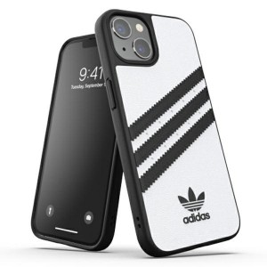 Adidas iPhone 13 OR Moulded PU Hülle Case Cover weiß