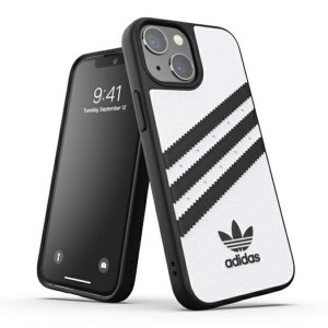 Adidas iPhone 13 mini OR Moulded PU Hülle Case Cover weiß