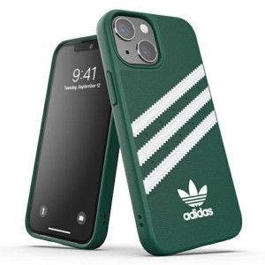 Adidas iPhone 13 mini OR Moulded PU Hülle Case Cover grün