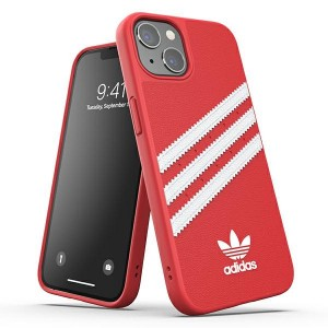 Adidas iPhone 13 Pro OR Moulded PU Hülle Case Cover Rot