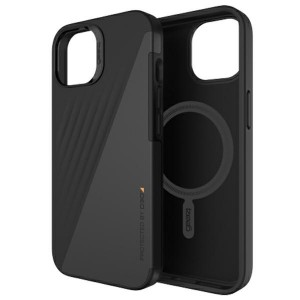 Gear4 iPhone 13 Brooklyn Snap Hülle MagSafe Case Cover Schwarz