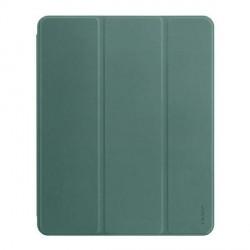 """USAMS iPad Pro 12,9"""" 2021 Smart Cover Book Case Winto Grün"""