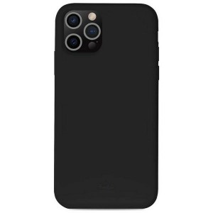 Puro iPhone 13 Pro Max ICON Antimicrobial Hülle Case Cover Schwarz