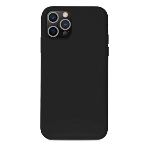 Puro iPhone 13 Pro ICON Antimicrobial Hülle Case Cover Schwarz