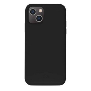 Puro iPhone 13 ICON Antimicrobial Hülle Case Cover Schwarz