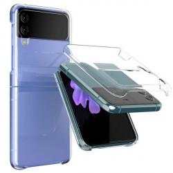 Mercury Samsung Flip 3 Hülle Case Cover Transparent Clear