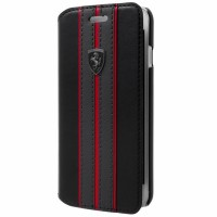 Ferrari Tasche FEURFLBKPXBKR iPhone XS / X Schwarz